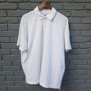 Patagonia Snap Button Polo Shirt - White - XL